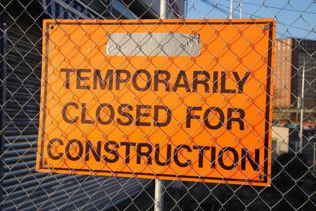 אתר בנייה ייסגר לאחר תאונת עבודה- מה החוק קובע
